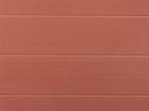 Фиброцементные плиты Duranit 061 Terracotta Stripes с полосчатыми углублениями