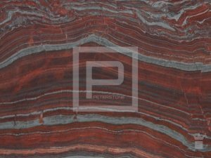 Peterstone Solid Red Stripes